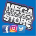 MegaMotorCyclesStore Logo