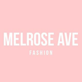 Melrose Ave Fashion Logo