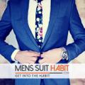 Mens Suit Habit Logo