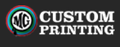 MG Custom Printing Logo
