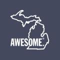 Michigan Awesome USA Logo
