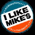 I Like Mikes Mid Century Modern USA Logo