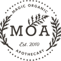 MOA - Magic Organic Apothecary Logo