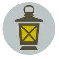 Modern Lantern Logo