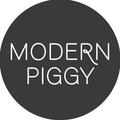 Modern Piggy Logo