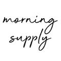 Morning Supplyffee Logo