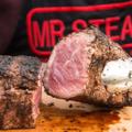 Mr. Steak Logo