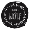 Mr Wolf and Kids Logo