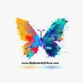 My Butterfly Pillow Logo