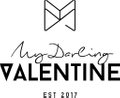 my darling valentine logo