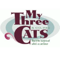 My Three Cats Logo