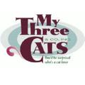 mythreecats.com Logo