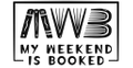 My Weekend is Booked Logo