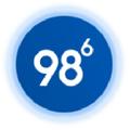 NinetyEight6 Logo