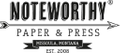Noteworthy Paper & Press Logo