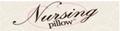 Nursing Pillow Logo