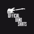 Official Band Shirts Logo