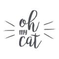 Oh My Cat Logo