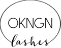OKNGN Lashes Logo