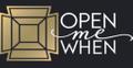 Open Me When Logo