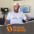 ORANGE ORIGAMI MUSIC LIBRARY Logo