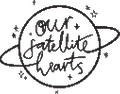 Our Satellite Hearts Australia Logo