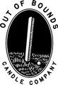 Out Of Bounds Candle Logo
