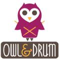 Owl & Drum Logo
