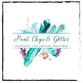 Paint Chips & Glitter Boutique Logo