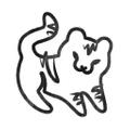 Paisley Tiger Logo