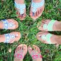Palm Beach Sandals logo