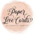 Paper Love Card logo