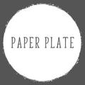 Paper Plate Restaurant Logo