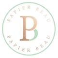 Papier Beau Logo