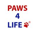 Paws 4 Life CA logo