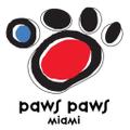 Paws Paws Miami USA Logo