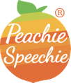 Peachie Speechie Logo