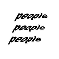 People Clothing Store Logo