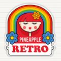 Pineapple Retro Logo