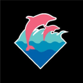 Pink+Dolphin Logo