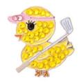 Pink Golf Tees Women's Golf Store Logo