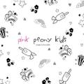 Pink Peony Kids Logo