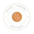 Piper + Arrows Logo