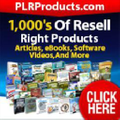 Plr Products Logo