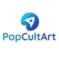 PopCultArt Logo