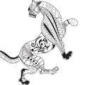 Prancing Leopard USA Logo