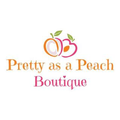 Pretty As A Peach Boutique Logo
