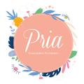 Pria Handmade Accessories Logo