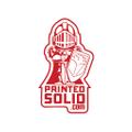 Printed Solid Logo