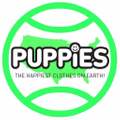Puppies Make Me Happy Logo
